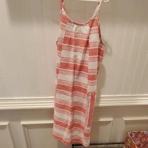 Girls casual linen dress